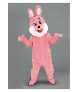Kanin kostume, pink mascot