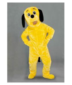 Hundekostume, gul mascot