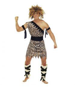 Hulemand kostume til mænd