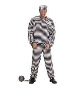 Fangedragt kostume til voksne