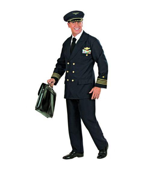 Pilot kostume til voksne
