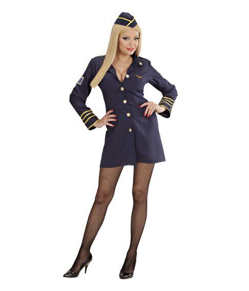 Stewardesse kostume til sidste skoledag