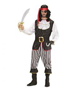 Pirat kostume til voksne
