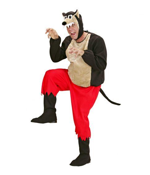 Store stygge ulv kostume til sidste skoledag
