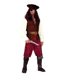 High Sea Pirate kostume til voksne