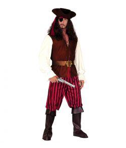 High Sea Pirate kostume til voksne