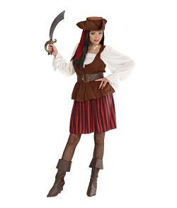 High Sea Pirat kostume til damer