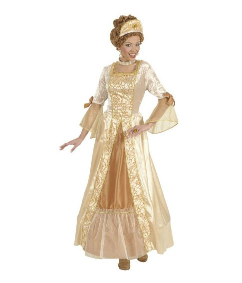 Golden Princess - Prinsesse kostume til voksne