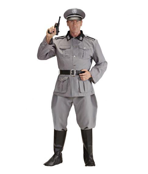 Tysk soldat kostume til voksne