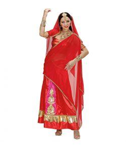 Indisk kostume til voksne