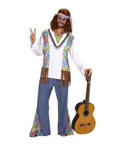 Woodstock Hippie kostume til voksne