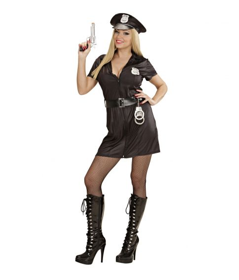 Politi kostume til sidste skoledag