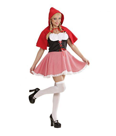 Rødhætte kostume til voksne