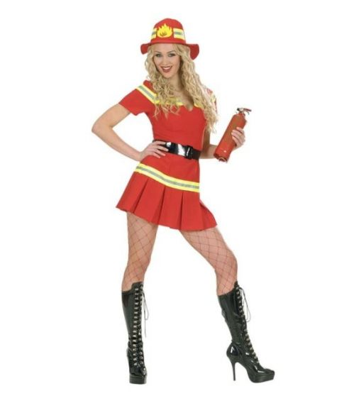 Brandmand kostume til sidste skoledag.