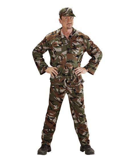 Soldat kostume til voksne