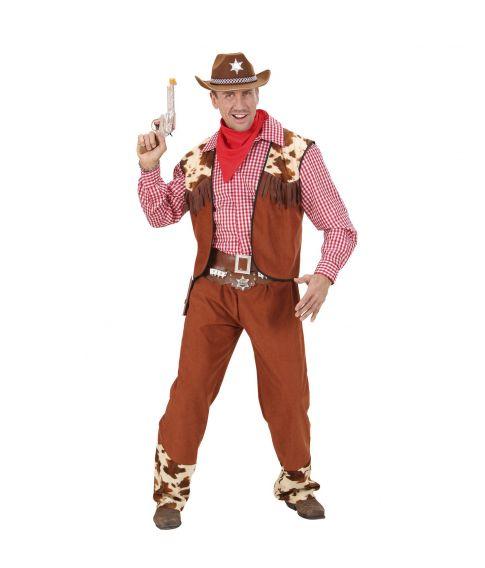 Cowboy kostume til voksne