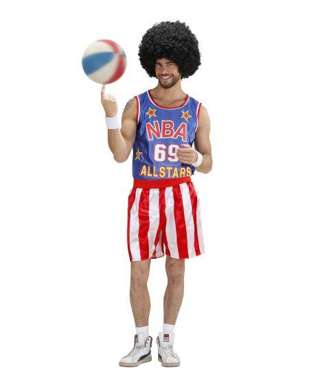 Basketball spiller kostume til voksne