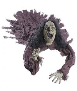 Halloween dekoration - Talende heks