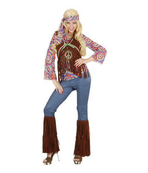 Kvinde Hippie kostume til voksne