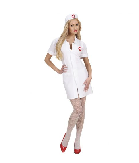 Sygeplejerske kostume til sidste skoledag