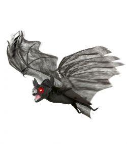 Halloween dekoration - Flagermus med lys