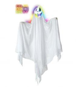 Halloween dekoration - Spøgelse med lys