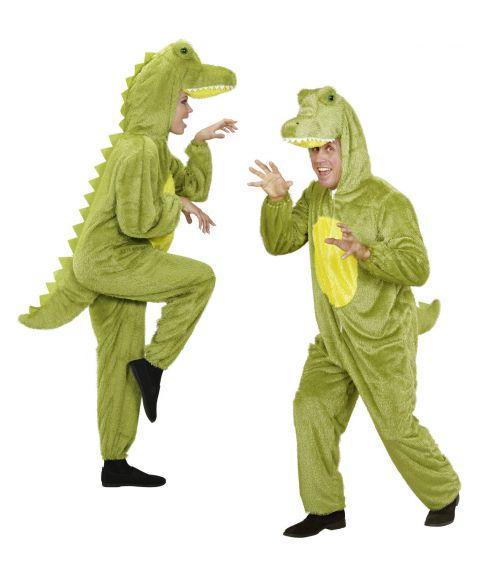 Krokodille kostume til sidste skoledag