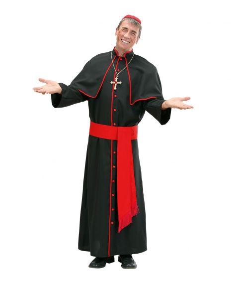 Kardinal kostume til voksne