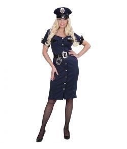 Politi kostume til voksne