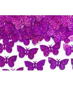 Sommerfugle konfetti pink 15 g