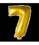 Folie tal ballon guld 7