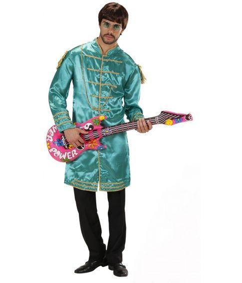 Grøn Beatles Sergeant Pepper jakke