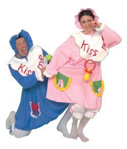 Baby kostume, blåt