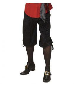 Sorte knæbukser til udklædning