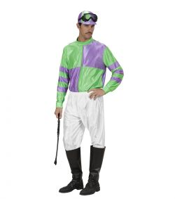 Jockey kostume, grøn