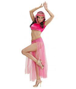 Pink mavedanser kostume