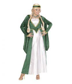 Renæssance Dronning kostume