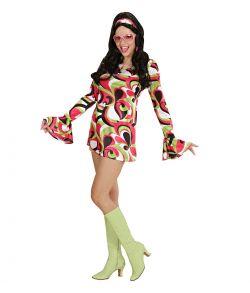70' chick kostume, grøn