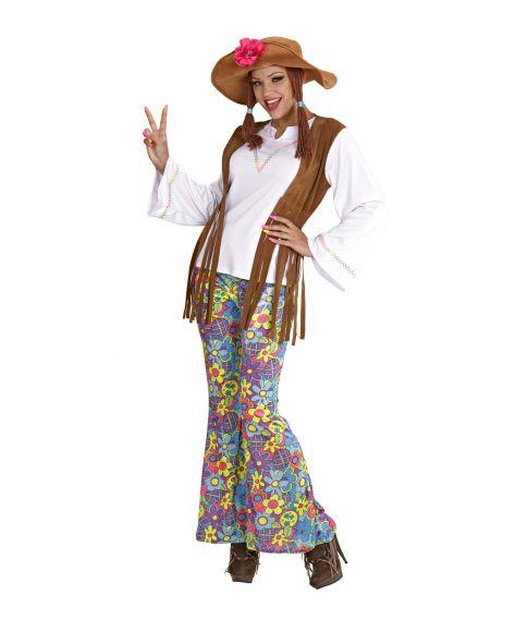 Woodstock Hippie kostume til damer