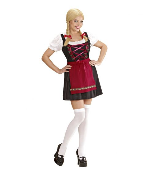 Bavarian Beer Maid tyrolerkjole