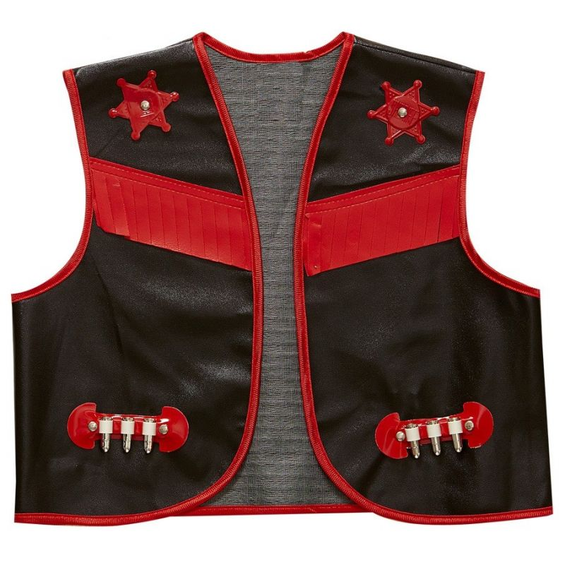 d7be8c69593 Sort Cowboy vest - Fest & Farver