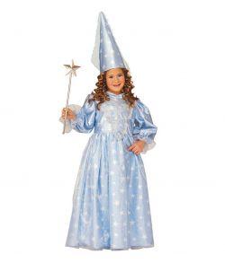 Magisk Fe kostume, lyseblå