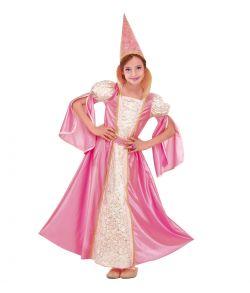 Pink Fe kostume til børn
