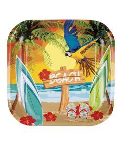Beach Tallerkner 6 stk