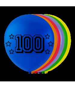 Balloner med tal -100