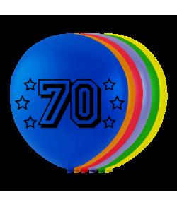 Balloner med tal - 70