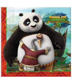 Kung Fu Panda 3 servietter