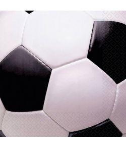 Fodbold servietter 16 stk