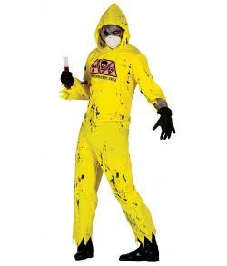 Radioactive Zombie kostume