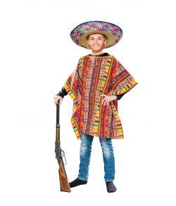 Poncho, barn